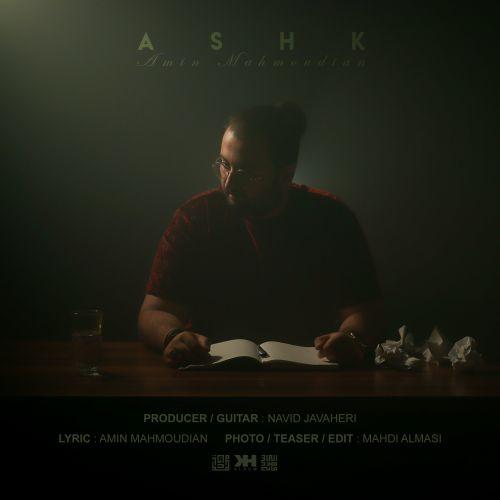 دانلود موزیک جدید امین محمودیان اشک